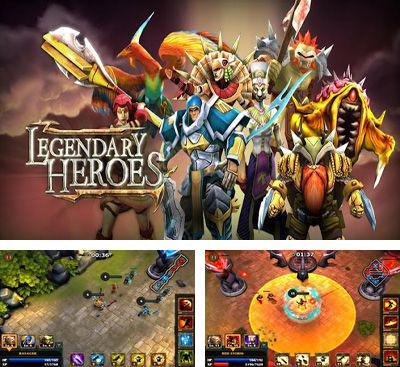 In addition to the game League of legends: Darkness for Android phones and tablets, you can also download Legendary Heroes for free.