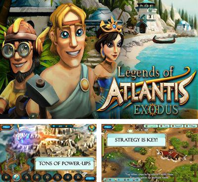 En plus du jeu Kolobok pour téléphones et tablettes Android, vous pouvez aussi télécharger gratuitement Les légendes de l'Atlantide: l'Exode, Legends of Atlantis Exodus.