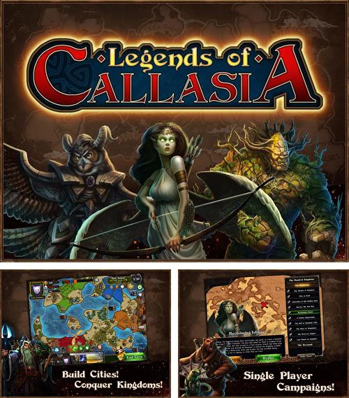 In addition to the game Lords and knights: Strategy MMO for Android phones and tablets, you can also download Legends of Callasia for free.