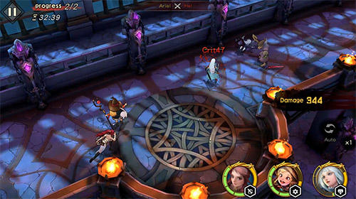 Screenshots von Legends of valkyries für Android-Tablet, Smartphone.