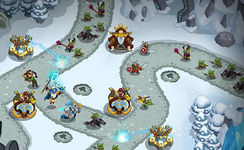 Screenshots do Legends TD: None shall pass! - Perigoso para tablet e celular Android.
