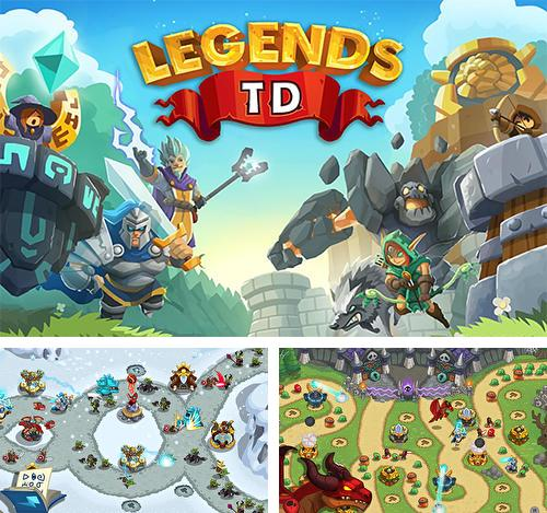 In addition to the game Shorties's kingdom for Android phones and tablets, you can also download Legends TD: None shall pass! for free.
