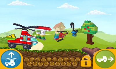 Screenshots of the LEGO App4+ Easy to Build for Young Builders for Android tablet, phone.