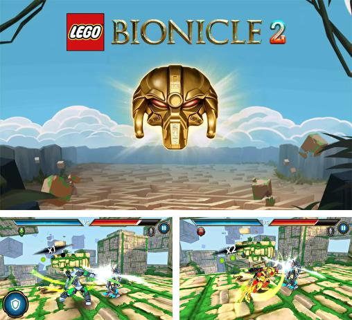 In addition to the game LEGO Star wars: Force builder for Android phones and tablets, you can also download LEGO: Bionicle 2 for free.