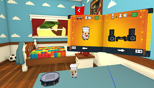Screenshots von LEGO Brickheadz builder VR für Android-Tablet, Smartphone.