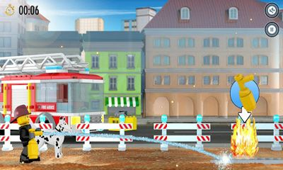 LEGO City Fire Hose Frenzy screenshot 1