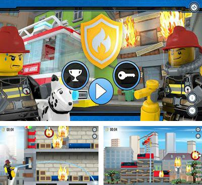 In addition to the game LEGO App4+ Easy to Build for Young Builders for Android phones and tablets, you can also download LEGO City Fire Hose Frenzy for free.