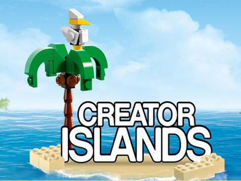 LEGO Creator islands poster