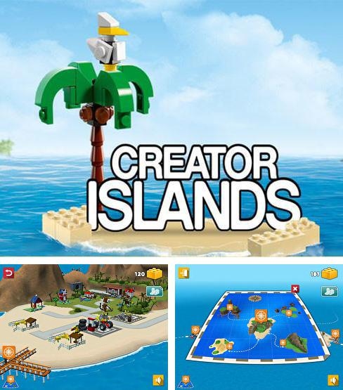 In addition to the game LEGO App4+ Easy to Build for Young Builders for Android phones and tablets, you can also download LEGO Creator islands for free.