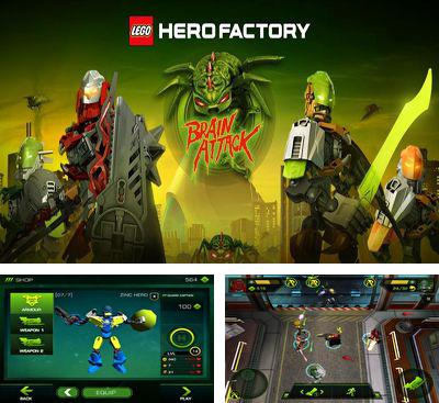 In addition to the game Armorslays for Android phones and tablets, you can also download LEGO HeroFactory Brain Attack for free.