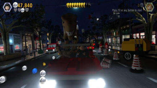 Kostenloses Android-Game LEGO Jurassic World. Vollversion der Android-apk-App Hirschjäger: Die LEGO Jurassic world für Tablets und Telefone.