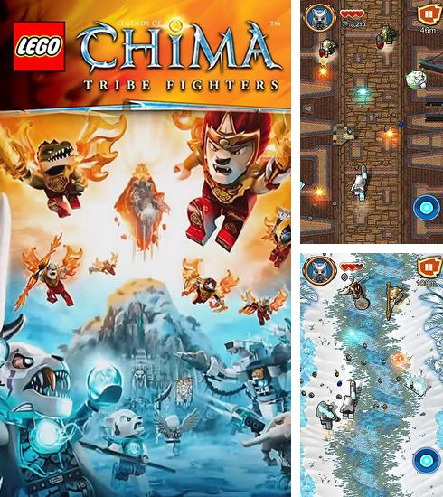 En plus du jeu LEGO: Les agents ultra  pour téléphones et tablettes Android, vous pouvez aussi télécharger gratuitement LEGO Légendes de Chima: Combattants du tribu, LEGO Legends of Chima: Tribe fighters.
