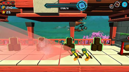 Screenshots von LEGO Ninjago: Skybound für Android-Tablet, Smartphone.