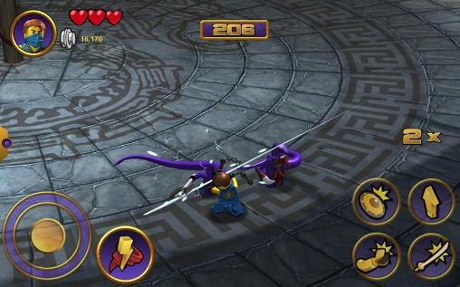Screenshots von LEGO Ninjago tournament für Android-Tablet, Smartphone.