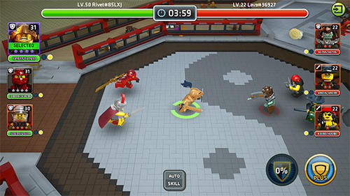 Screenshots von LEGO Quest and collect für Android-Tablet, Smartphone.
