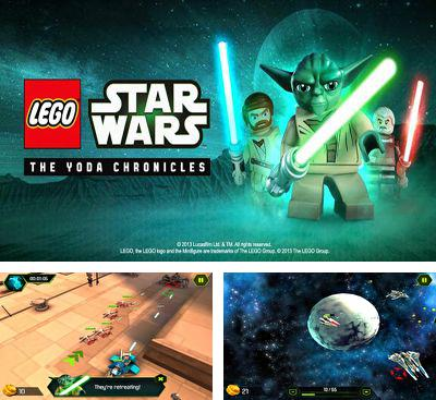 In addition to the game LEGO Star wars: Force builder for Android phones and tablets, you can also download LEGO Star Wars for free.