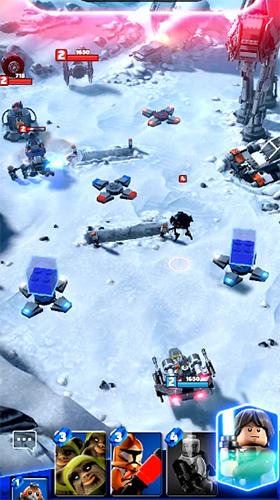 Screenshots von LEGO Star Wars: Battles für Android-Tablet, Smartphone.