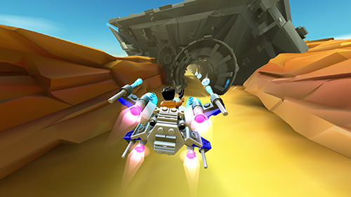 Screenshots von LEGO Star wars: Micro fighters für Android-Tablet, Smartphone.