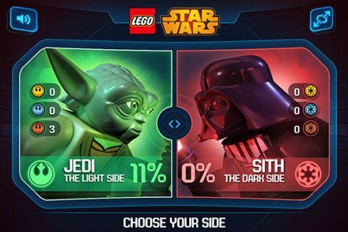 Screenshots do LEGO Star wars: The new Yoda chronicles - Perigoso para tablet e celular Android.