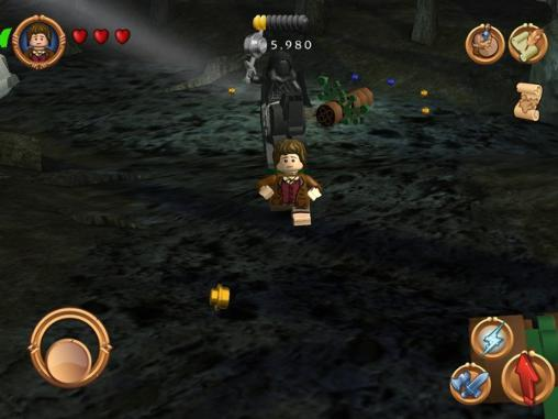 Screenshots von LEGO The lord of the rings für Android-Tablet, Smartphone.