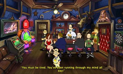 Android タブレット、携帯電話用Leisure Suit Larry Reloadedのスクリーンショット。