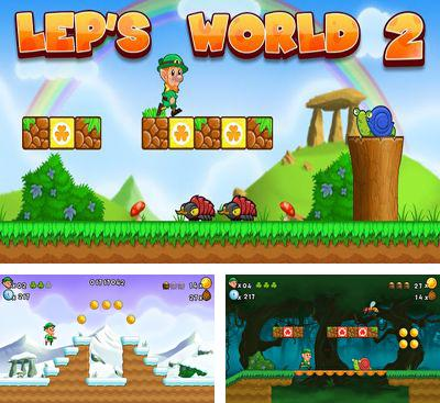 In addition to the game Marv The Miner 3: The Way Back for Android phones and tablets, you can also download Lep's World 2 for free.
