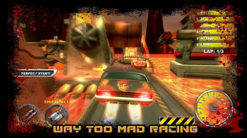 Screenshots von Lethal death race für Android-Tablet, Smartphone.