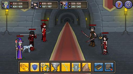 Screenshots von Lethal RPG: War für Android-Tablet, Smartphone.