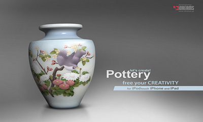 Let's Create! Pottery poster