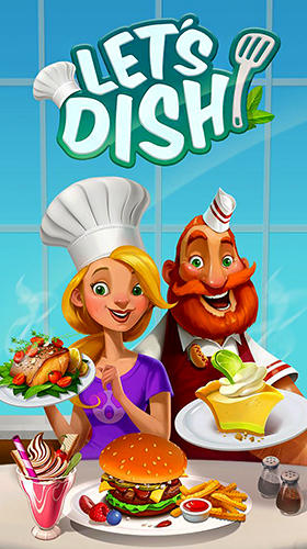 Let's dish poster