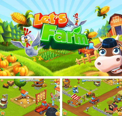 In addition to the game Green Farm for Android phones and tablets, you can also download Let's farm for free.