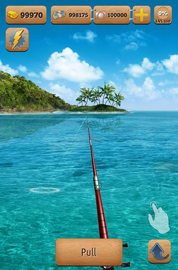 Screenshots do Let's fish - Perigoso para tablet e celular Android.