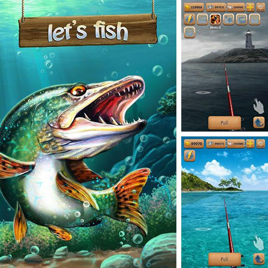 In addition to the game Gone Fishing for Android phones and tablets, you can also download Let's fish for free.