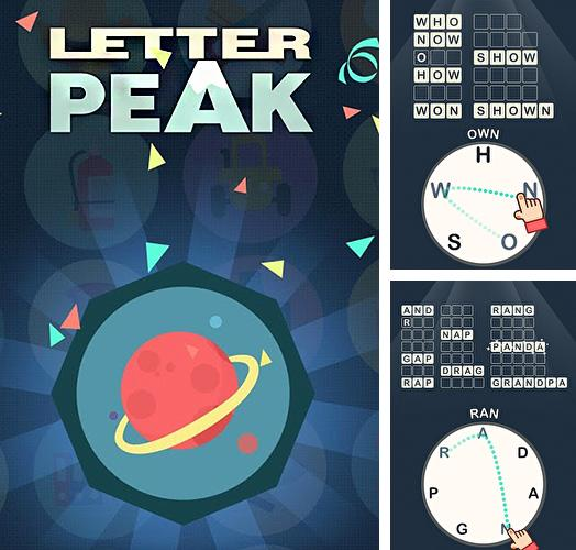Letter peak: Word search up