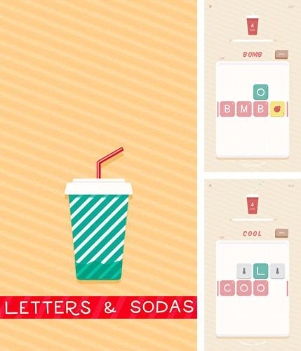 Letters and sodas