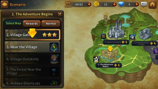 Screenshots von Light: Fellowship of Loux für Android-Tablet, Smartphone.