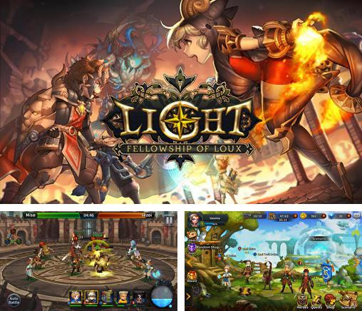 In addition to the game Girls of war for Android phones and tablets, you can also download Light: Fellowship of Loux for free.