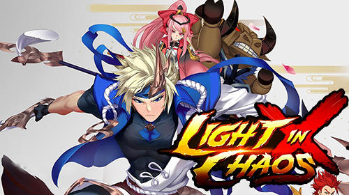 Light in chaos: Sangoku heroes poster