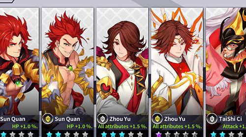 Light in chaos: Sangoku heroes screenshot 1