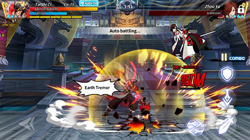 Light in chaos: Sangoku heroes screenshot 2