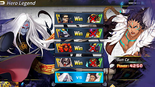 Light in chaos: Sangoku heroes screenshot 3