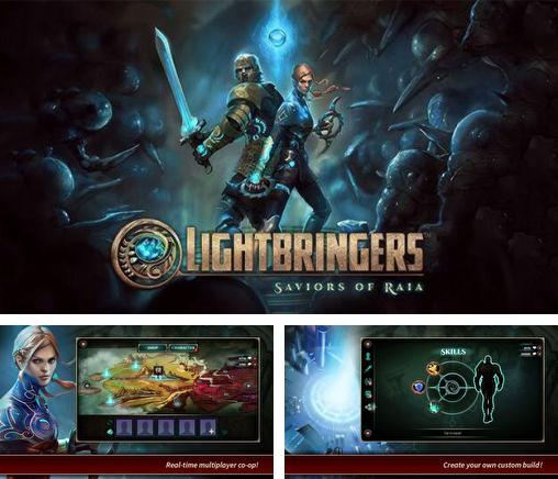 In addition to the game Inoqoni for Android phones and tablets, you can also download Lightbringers: Saviors of Raia for free.