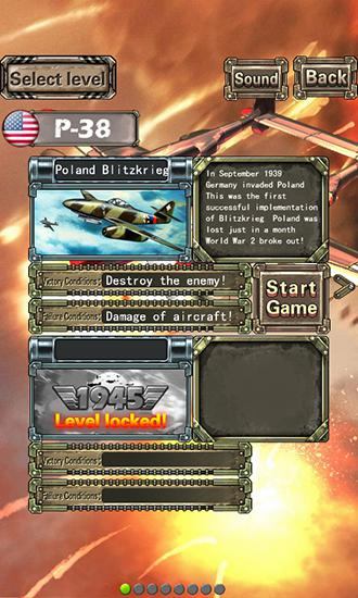 Lighting fighter raid: Air fighter war 1949 screenshot 1