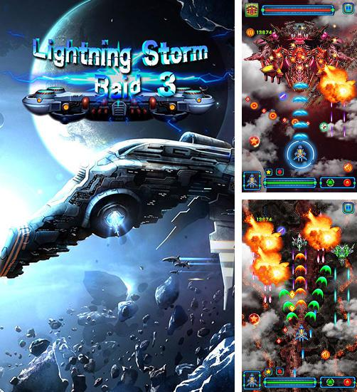 In addition to the game Sky fighter: War machine for Android phones and tablets, you can also download Lightning storm raid 3 for free.