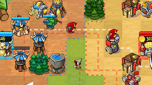 Like a king: Tower defence royale TD screenshot 1
