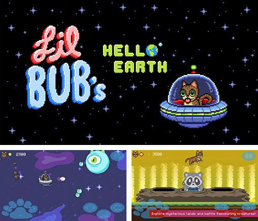 Lil bub's hello Earth