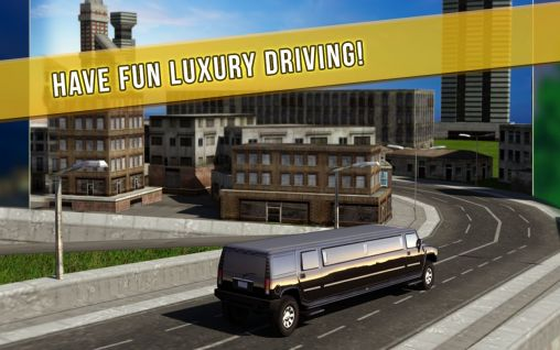 Limo city driver 3D screenshot 1