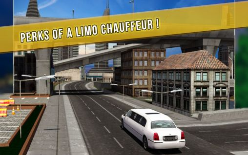 Limo city driver 3D screenshot 2