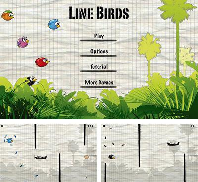 In addition to the game Spider Rider for Android phones and tablets, you can also download Line Birds for free.