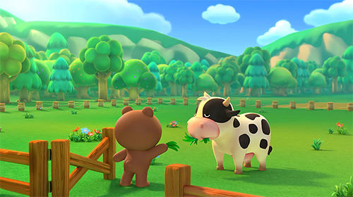 Screenshots von Line: Brown farm für Android-Tablet, Smartphone.